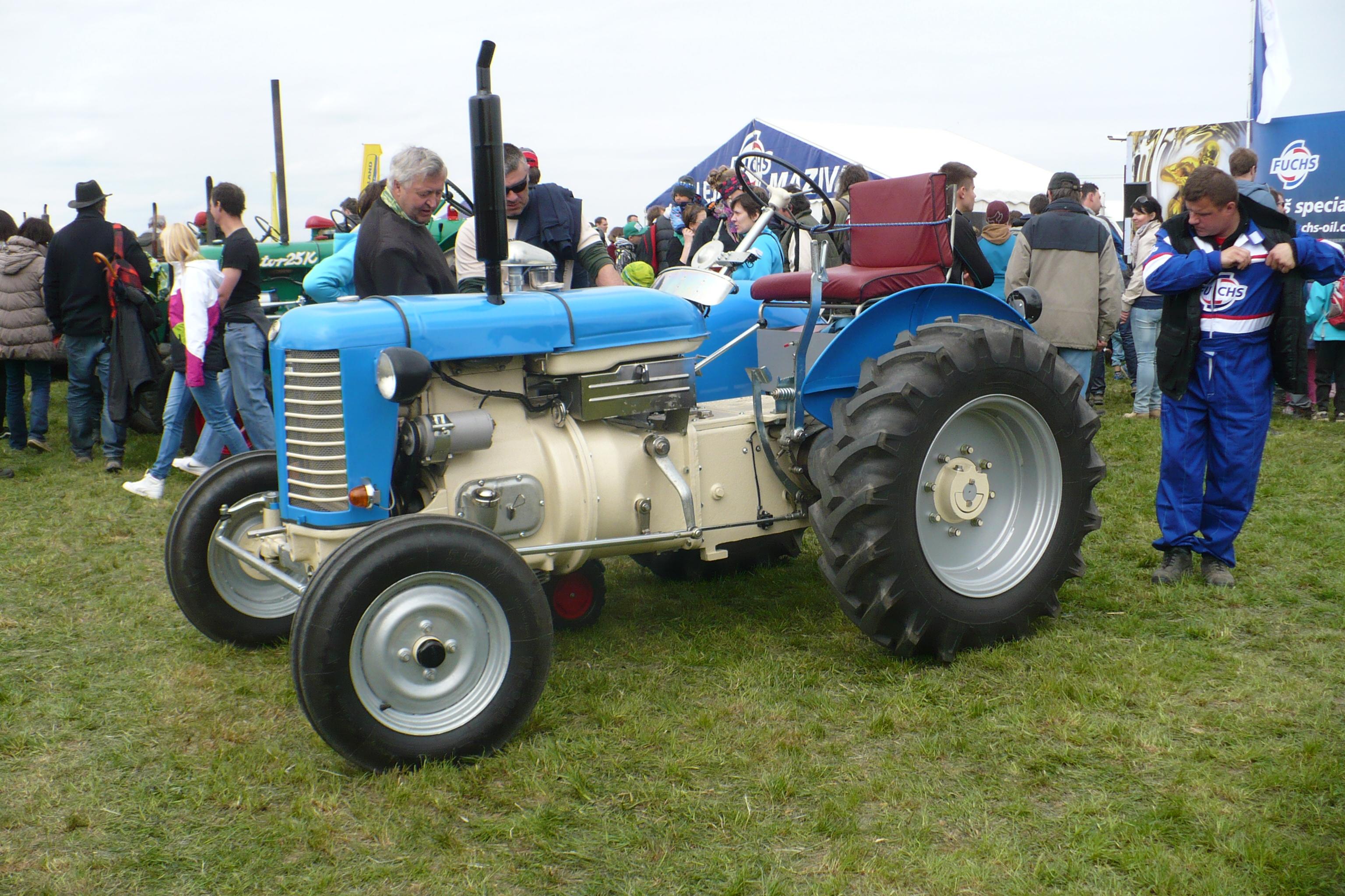 Vyskeřská  Traktoriáda 2016